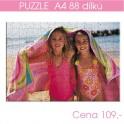Puzzle A4 88 dílů